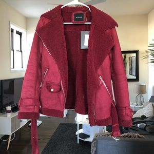 Jackets & Blazers - Fiat fur shearling jacket